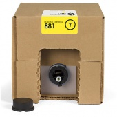 881 5-liter Yellow Latex Ink Cartridge