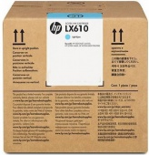 LX610 3-liter Light Cyan Latex Ink Cartridge