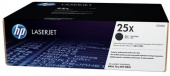 25X Black LaserJet Toner Cartridge