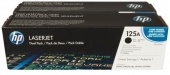 125A 2-pack Black Original LaserJet Toner Cartridges