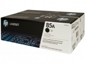 85A Black Dual Pk LJ Toner Cartridge