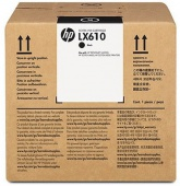 LX610 3-liter Black Latex Ink Cartridge