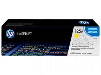 125A Yellow Original LaserJet Toner Cartridge